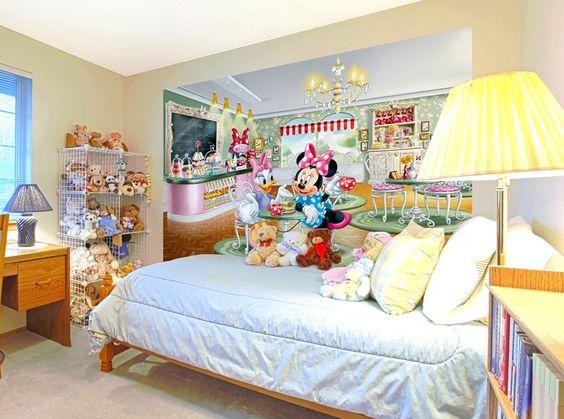 Originales paredes de diseo en habitaciones infantiles - Habitaciones infantiles originales ...
