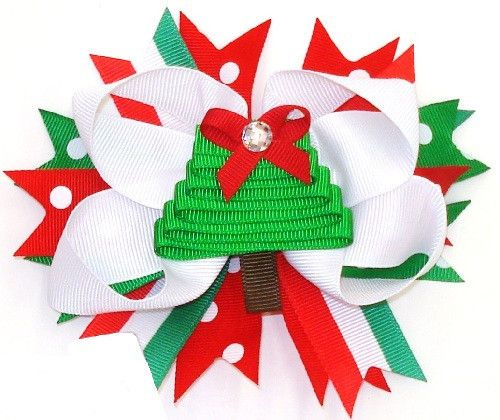 Custom Christmas Tree Bow #accessories #bows #new