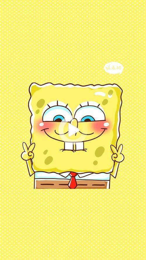 Sponge Bob Uploaded By Pamela Moreno Rodas On We Heart It In 2021 Cartoon Wallpaper Iphone Spongebob Wallpaper Cartoon Wallpaper