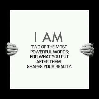 From Ayn Rand's Anthem: So True.  Speak affirmations and make declarations into your mind until become reality.