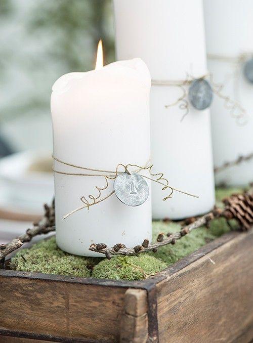 Pin Von Lada Auf Napady Do Domu Adventskerzen Advent Kerzen Kerzen