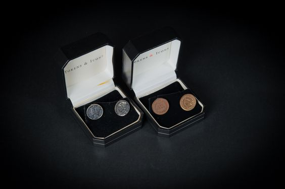 Tokens & Icons cufflinks
