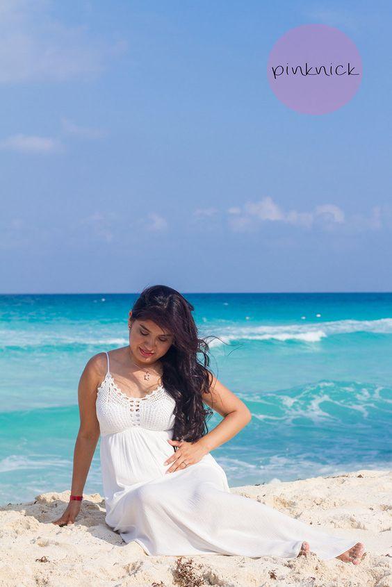 Sesiones maternidad. Pinknickfotografía. Cancún. Riviera Maya. Playa del Carmen.