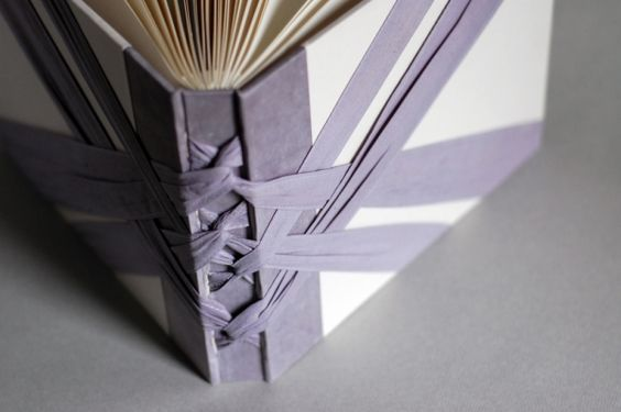 Handbound book by natalie stopka for Beautiful binding