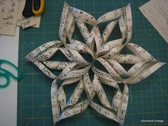 Paper Snowflakes - another tutorial