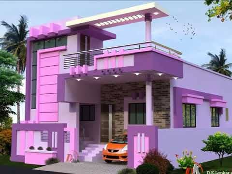Porch Attatch Horizontal Stair Case Tower Designs Youtube | Front Stair House Design | Unique | Simple | Veranda Stair | Low Cost 2 Bhk House | Front Jina