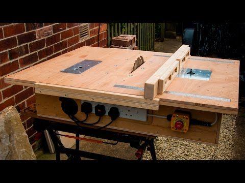 Como hacer una sierra circular de madera paso a paso - Construir una mesa de madera ...