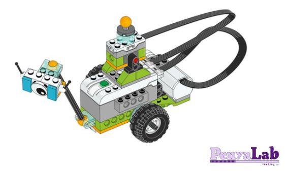 Lego wedo – Milo envia missatges