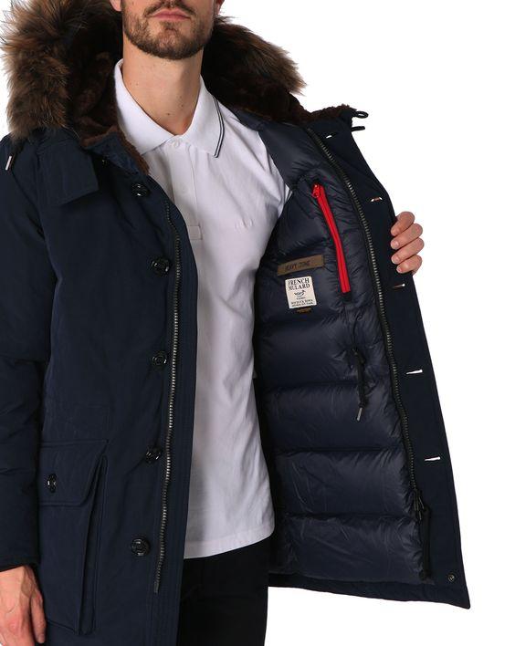 Down Jackets - MUSEUM - Arctic Parka Navy Fur Long Down Jacket
