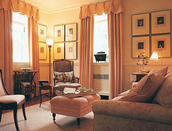 mona hajj designer adore this sitting room color art