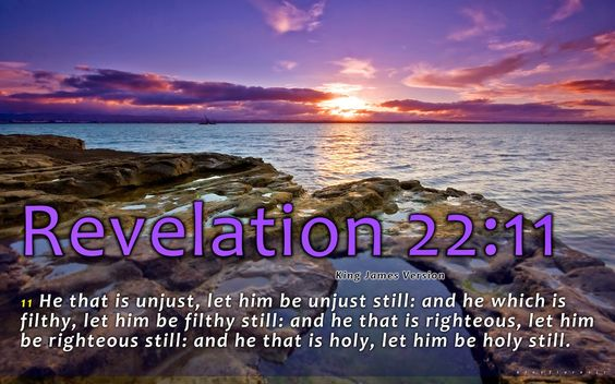 Revelation 22:11