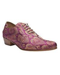 Haider Ackermann | Purple Brocade Oxford Shoe | Lyst