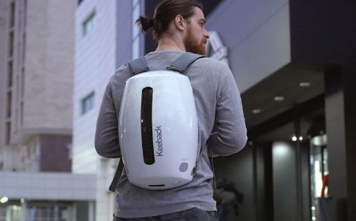 Keeback - futuristic stylish digital backpack