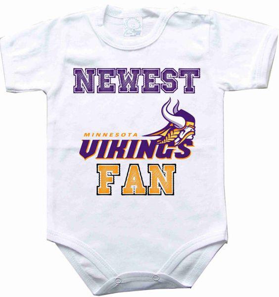 Minnesota Vikings Newborn Girls Three-Piece Ruffle Creeper Set - Pink/Ash/White