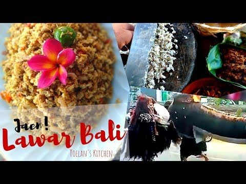 Cara Memasak Lawar Nangka Khas Bali Sajian Hari Raya Galungan Balinese Food Toelan S Kitchen Youtube Cara Memasak Memasak Bali