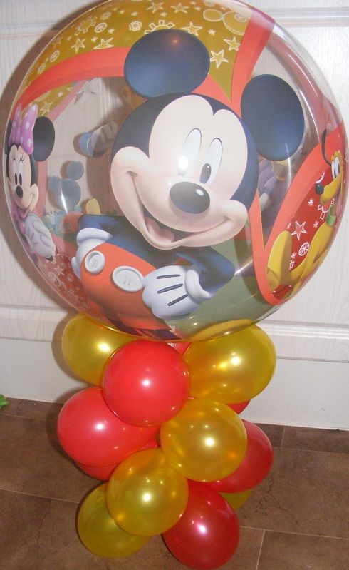 Mickey Mouse Balloon Table Decoration Contact us through the - website quotation