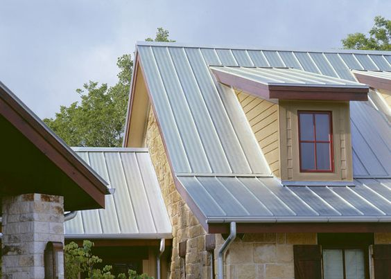 Colors metal roof and board and batten on pinterest for Metal board and batten siding