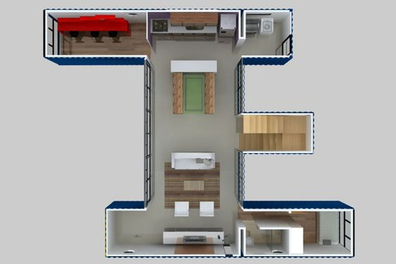 Shipping container house plan book series book 13 shipping container homes how to plan for Design your own container home