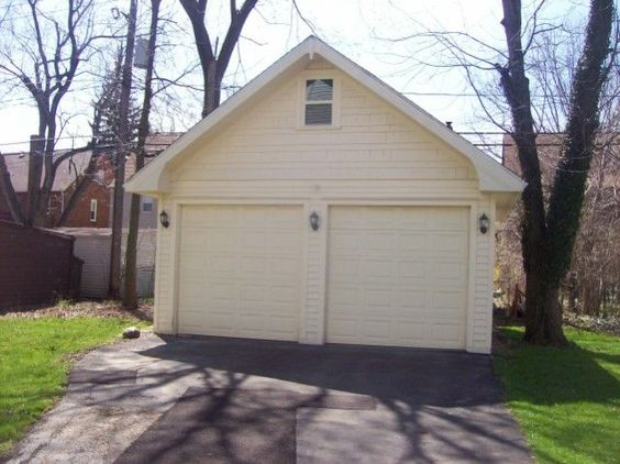 two car gable custom garages shannonwood garage builders cleveland ohio