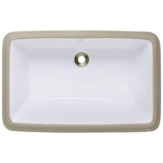 MR Direct Undermount Bathroom Sink