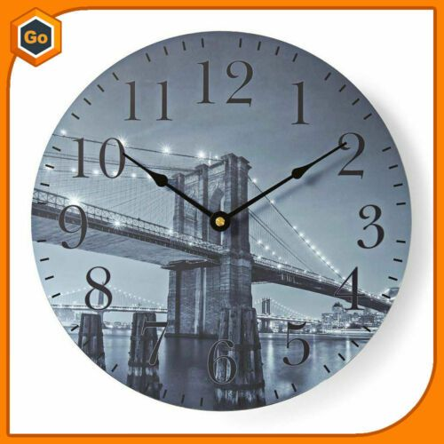 Wall Clock Wall Of Wood 11 13 16in In Home Kitchen Living Room Bed Wall Clocks Ebay Link In 2020 Wall Clock Clock Bed In Living Room