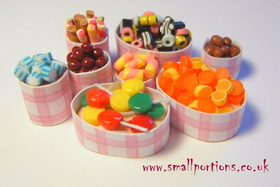 Selection of 112 scale Sweets/Candy by smallportions1 on Etsy