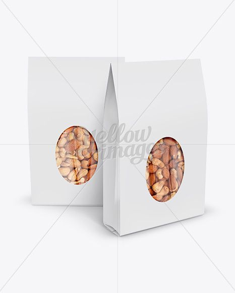 Download Two Paper Stand Up Pouches W Nuts Mockup Front View In Pouch Mockups On Yellow Images Object Mockups Paper Stand Design Mockup Free Mockup Free Psd