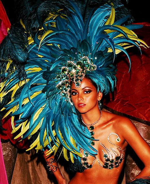 Paint on Large Canvas and Glue/use real Feathers and Sparkles  Trinidad Carnival Costumes 2010