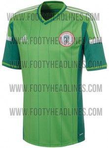 Camisa 1 da Nigéria para a Copa 2014 - http://www.colecaodecamisas.com/camisa-1-da-nigeria-para-a-copa-2014/ #colecaodecamisas #Adidas, #Copadomundo2014
