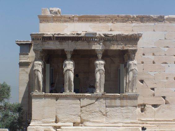 The history of democracy goes back from Classical Athens. This is an example of an Acropolis building. They had a lot of buildings similar to this. Acropolis buildings are buildings from an ancient Greek city, they are typically built on a hill.