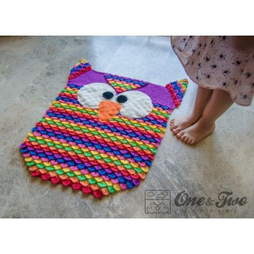 Crochet Owl Rug Patterns Patterns Kid