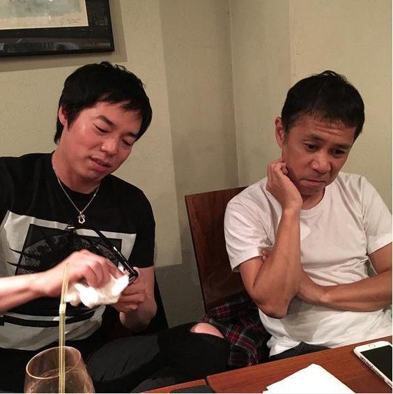 岡村隆史さんと今田耕司さん