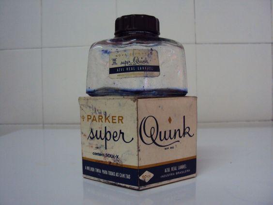 TINTA PARA CANETA SUPER QUINCK ANOS 50 - Pesquisa Google