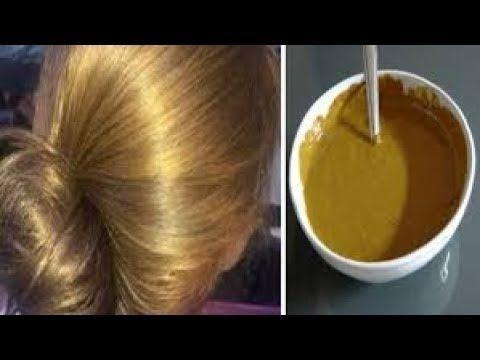 صباغة طبيعية باللون الاشقر الذهبي تغطي الشيب من أول استعمال ومقوية للشعر Hair Care Recipes Hair Care Hair Beauty