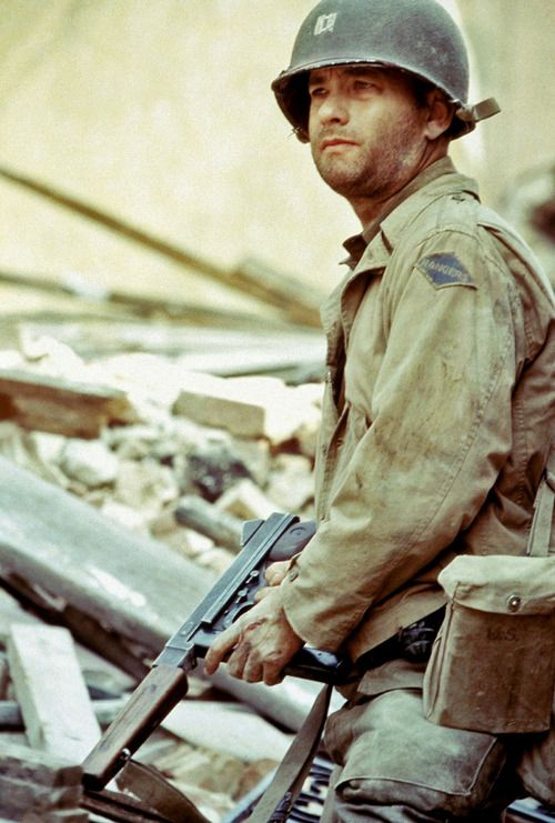 Tom Hanks in Saving Private Ryan | Hollywood Nightmares ...