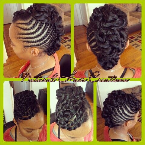 Amazing Cornrow Updo And Hair On Pinterest Hairstyle Inspiration Daily Dogsangcom