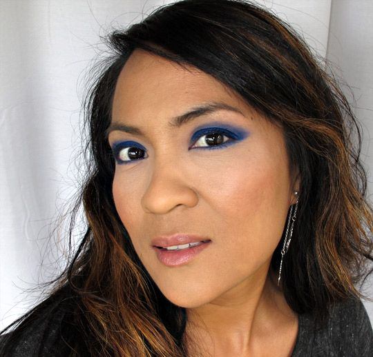 Karen Monterichard from makeupandbeautyblog.com - my favorite beauty writer! What really sets her apart from other makeup bloggers is her creativity. In addition, she has shown me that every part of the makeup color spectrum can be manipulated to work with any skin tone. No color should be feared, and they are all meant to be worn with pride.