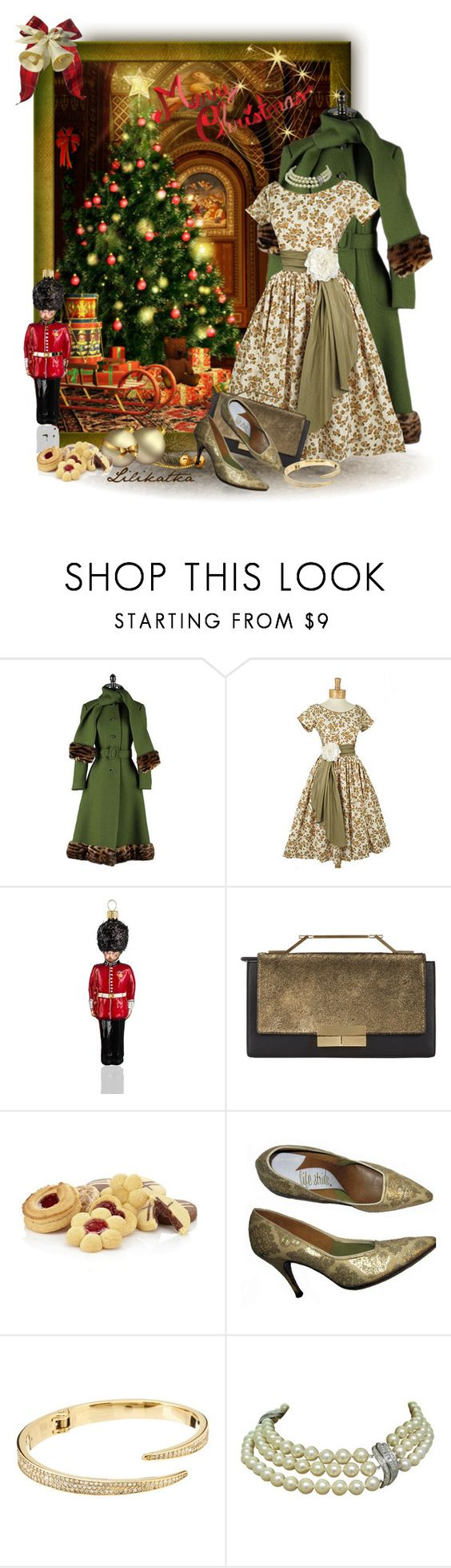 """Pivonka#1195"" by lilikatka ❤ liked on Polyvore featuring Joy To the World, J. Mendel, Harrods, Michael Kors and vintage"