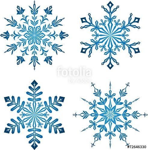 vektor blue snowflakes schneeflocken schnee tattoo schneeflocke ai vektorgrafik standort