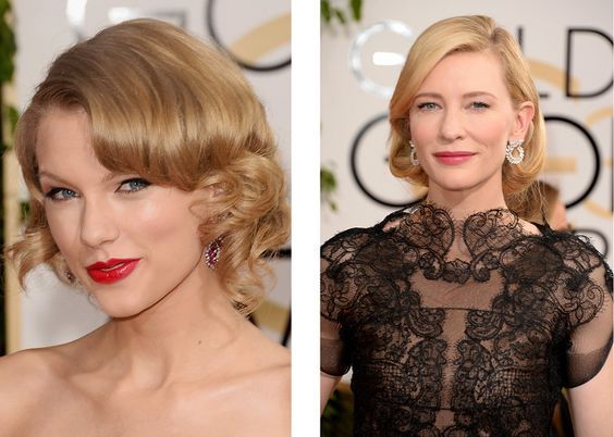 Copia los peinados de los Globos de Oro en tus próximo eventos