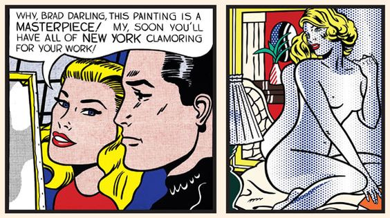 Roy Lichtenstein's retrospective @Tate