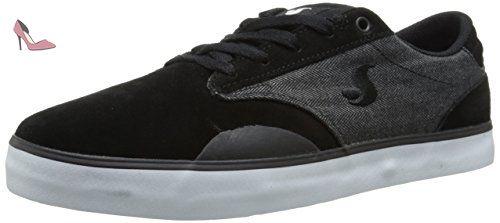 DVS Daewon 14, Chaussures de skateboard homme - Multicolore (Navy/Blk Suede), 40 EU (7 US)DVS
