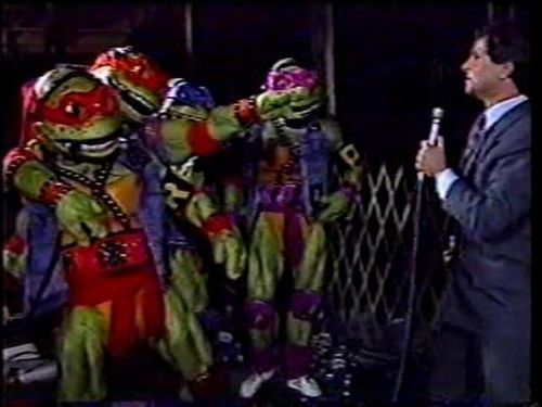 The Turtles getting an interview.