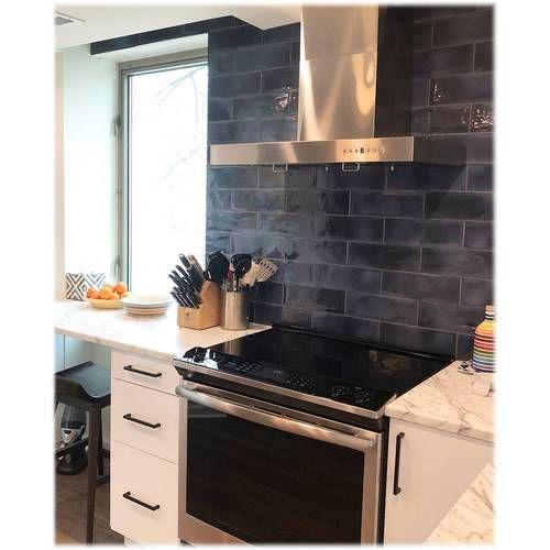 Zline 36 Externally Vented Range Hood Brushed Stainless Steel Ke 36 Best Buy In 2020 Wall Mount Range Hood Range Hood Kitchen And Bath
