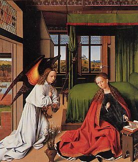 Verkündigung an Maria (Petrus Christus)