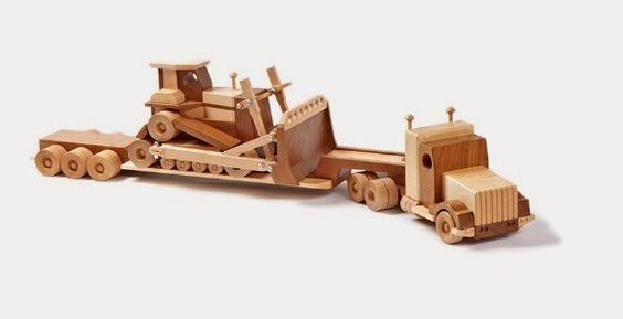 Técnicas de marcenaria: Brinquedos de madeira