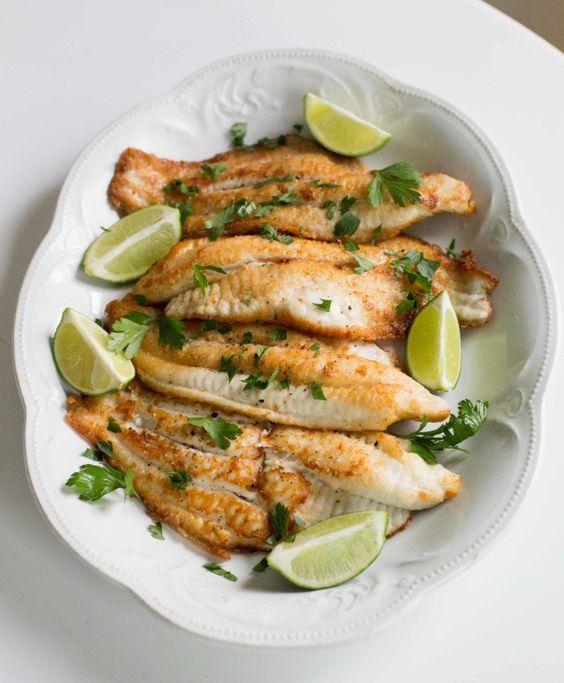 Sencilla y rápida receta para un rico Pescado a la plancha. #enmicocinahoy #pescado