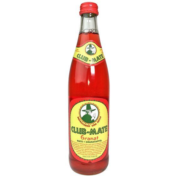 Club-Mate Granat (Pomegranate) Case (16.9 oz)