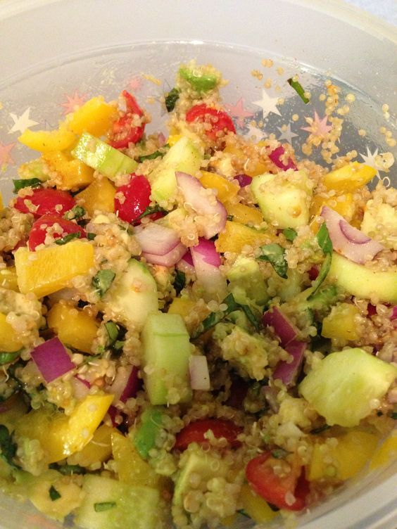 ... and salt pepper for the dressing super healthy filling and yummy