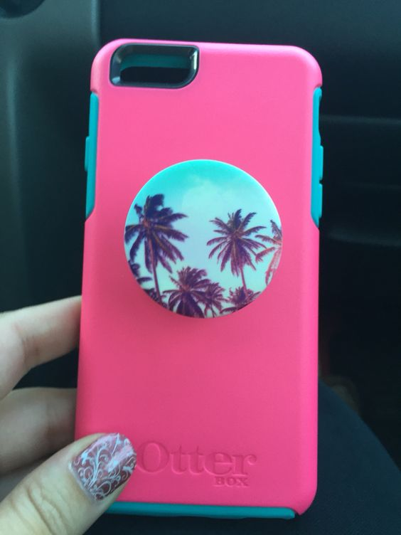 My Pop Socket matches my phone case! So handy and comfy ...